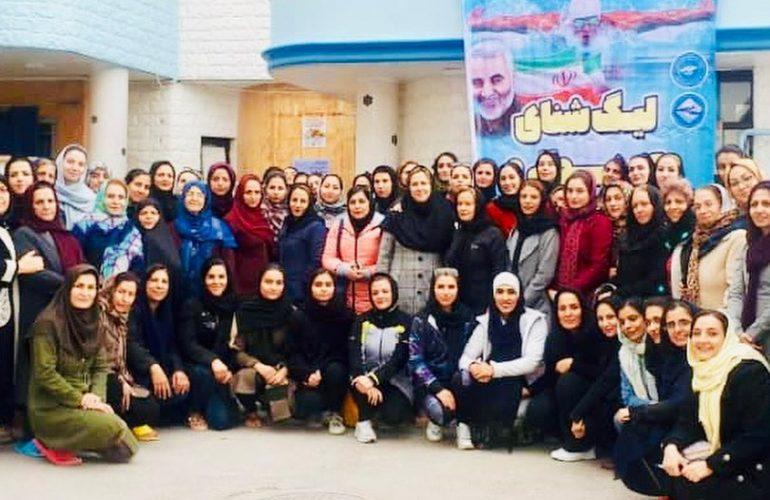 مسابقات شنای لیگ استان اصفهان 98